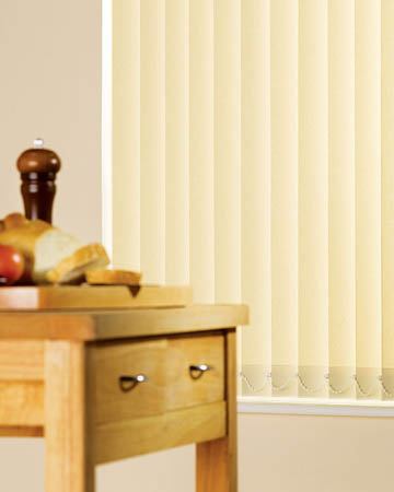 Beige Vertical Blinds