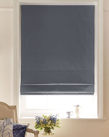 Grey Roman Blinds