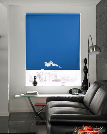 Eclipse Banlight Duo FR Blue Blackout Blinds