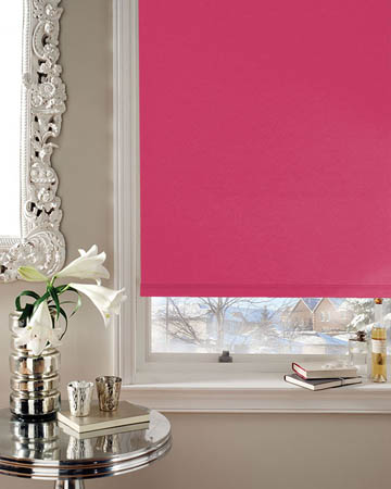 Eclipse Banlight Duo FR Fuchsia Blackout Blinds