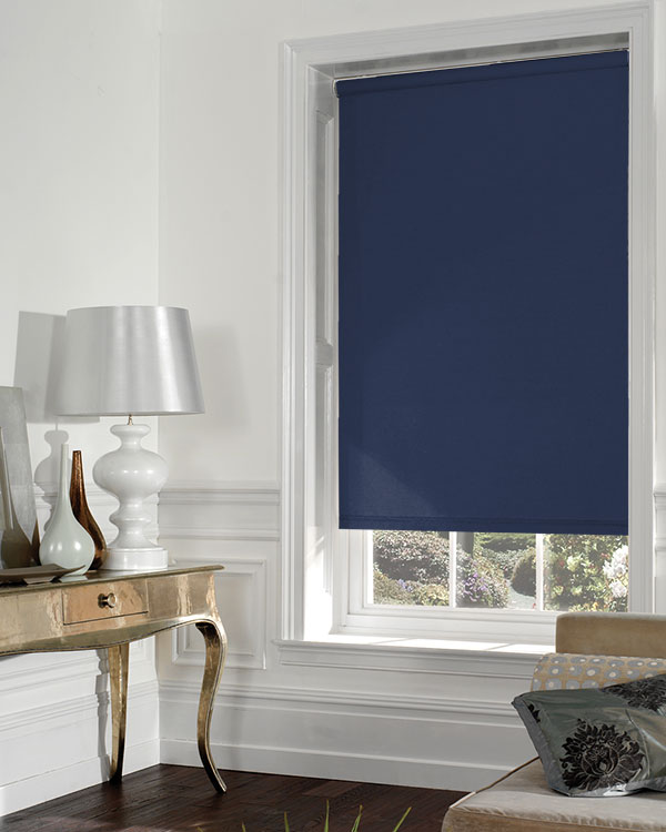 Eclipse Banlight Duo Fr Navy Blackout Blinds