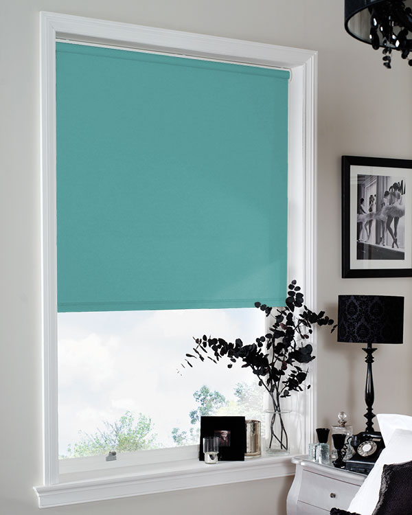 Eclipse Banlight Duo Fr Turquoise Blackout Blinds