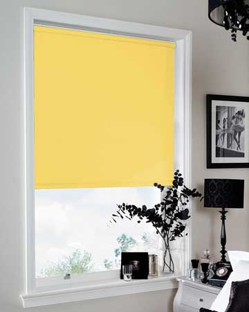 Louvolite Carnival Blackout Buttercup Blackout Blinds