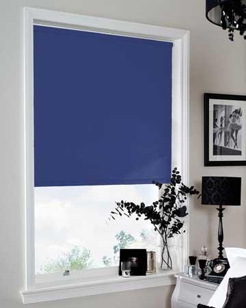 Louvolite Colourtex Blackout Azure Blackout Blinds