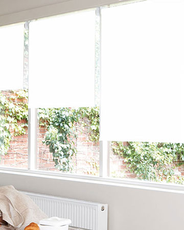 Louvolite Exlite Snow Blackout Blinds