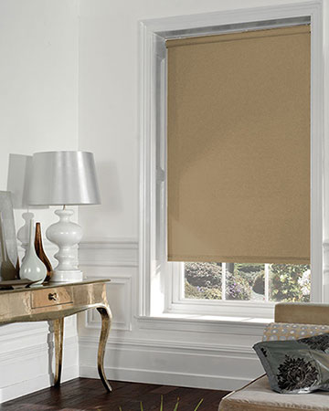 Louvolite Maine Maize Blackout Blinds