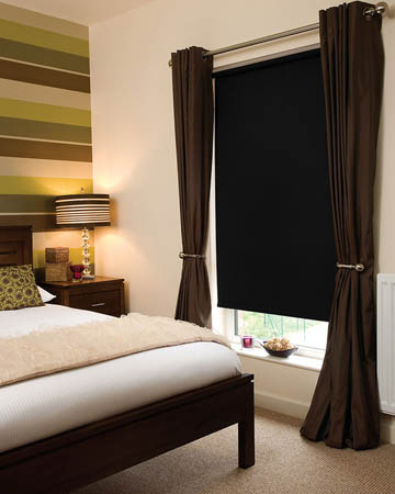 Black Blackout Blinds Blinds Uk