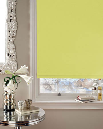 Moonlight Lime Blackout Blinds