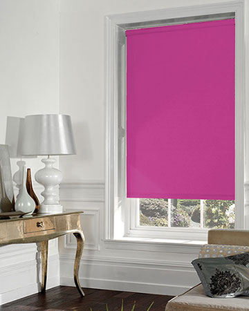 Moonlight Magenta Blackout Blinds