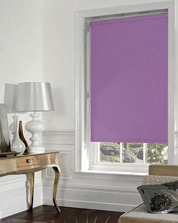 Lilac Blackout Blinds Purple Blackout Roller Blinds