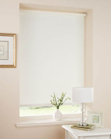 Moonlight White Blackout Blinds
