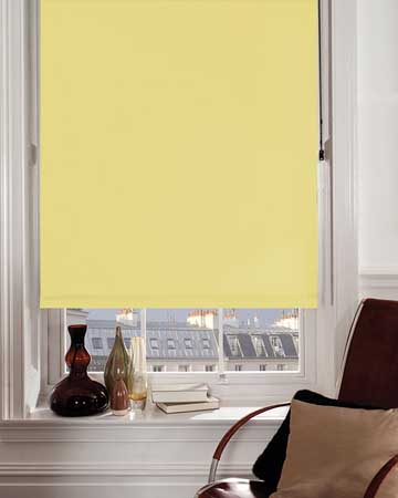 Wipeable Buttercup Blackout Blinds