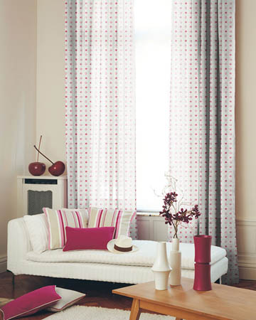 A La Carte Blush Curtains