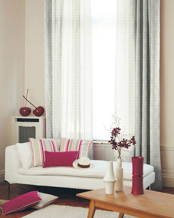 A La Carte Lime Curtains