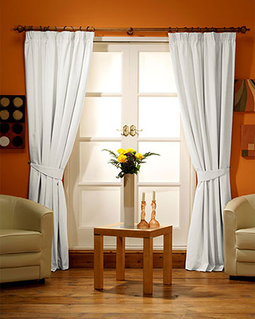 Canvas Cream Curtains