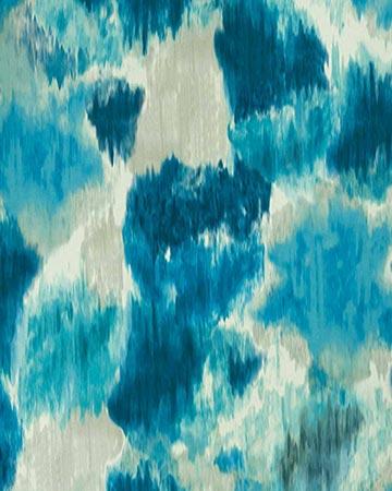 Clarke & Clarke Cirro Indigo/Teal Curtains
