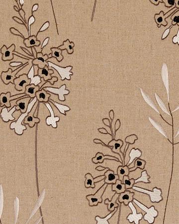 Clarke & Clarke Foxglove Charcoal Curtains