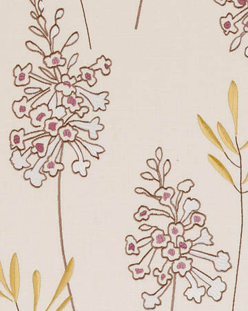 Clarke & Clarke Foxglove Heather Curtains