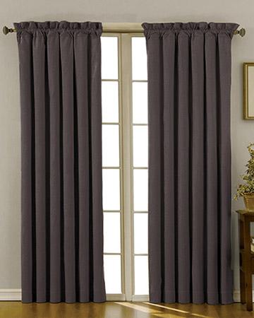Clarke & Clarke Linoso Steel Curtains