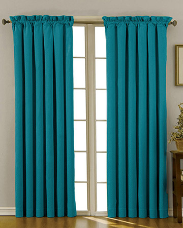 Clarke & Clarke Nantucket Bluejay Curtains