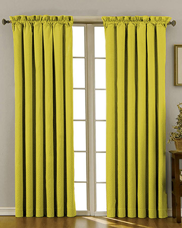 Clarke & Clarke Nantucket Celery Curtains