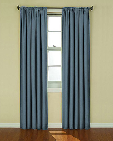 Clarke & Clarke Nantucket Chambray Curtains