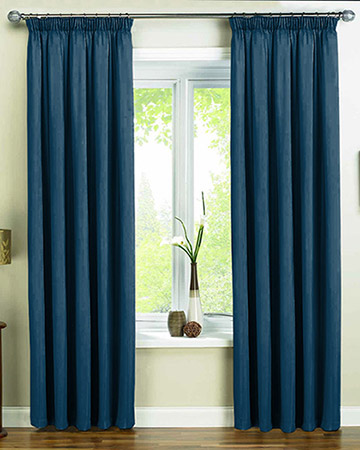 Clarke & Clarke Nantucket Denim Curtains