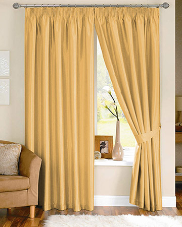 Clarke & Clarke Nantucket Sunflower Curtains