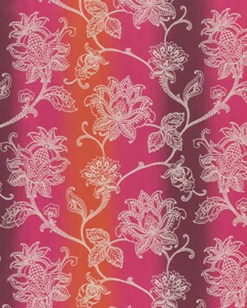Clarke & Clarke Raphael Fuchsia Curtains