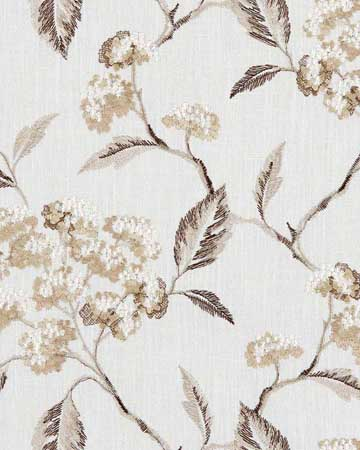 Clarke & Clarke Summerby Natural Curtains