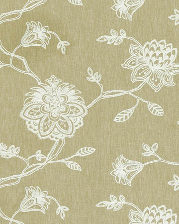 Clarke & Clarke Whitewell Sage Curtains