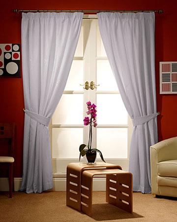 Dahlia Grey Curtains