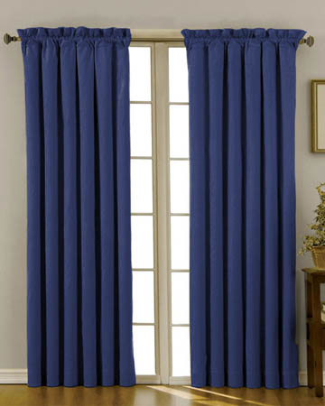 Dahlia Indigo Curtains