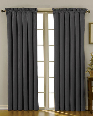 Edgar Black Curtains