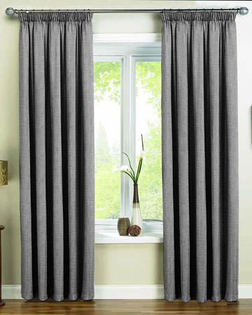 Edgar Grey Curtains