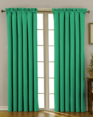 Kelly Green Curtains