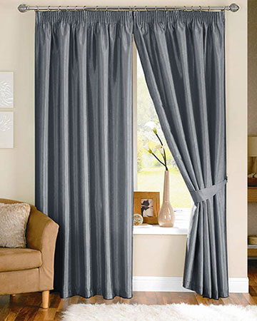Luxe Grey Curtains