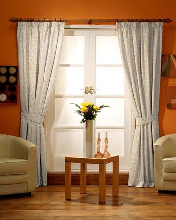 Orsay Tuilerie Brode Beige Curtains