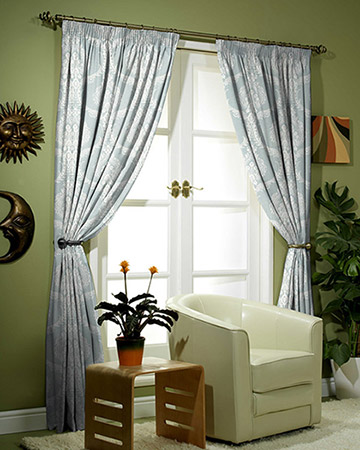 Prestigious Arley Azure Curtains