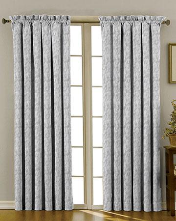 Prestigious Arlo Chrome Curtains