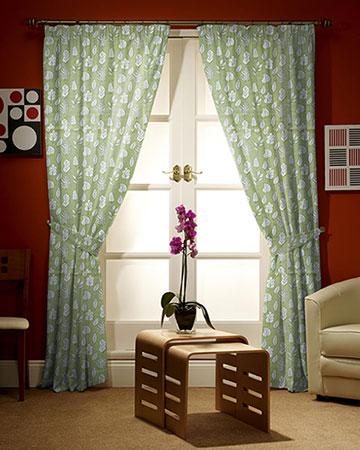 Prestigious Biscayne Palm Curtains