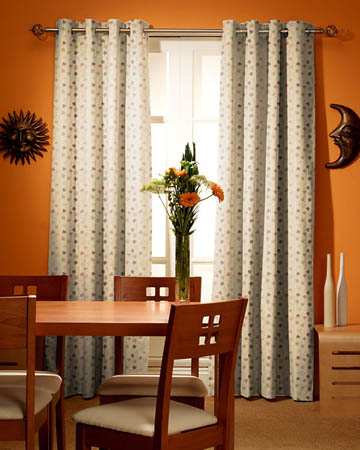 Prestigious Camelia Mulberry Curtains
