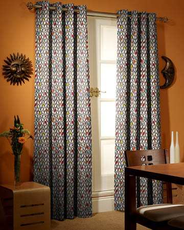 Prestigious Cedar Cinnamon Curtains