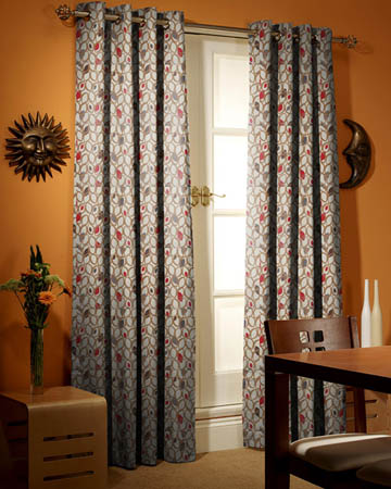 Prestigious Cedar Red Berry Curtains