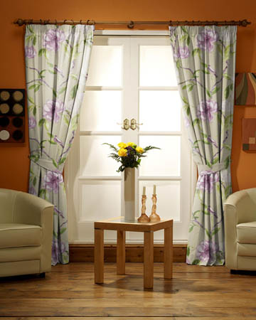 Prestigious Chinoise Mulberry Curtains