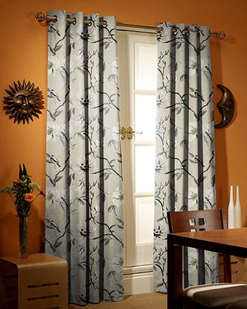 Prestigious Chinoise Parchment Curtains