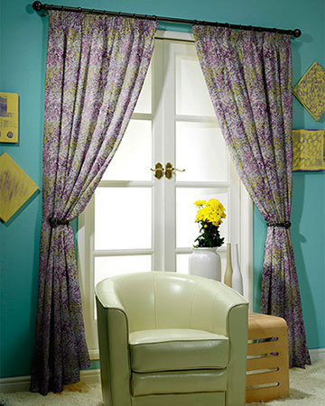 Prestigious Confetti Mulberry Curtains