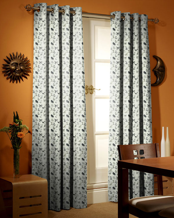 Prestigious textiles cool cats charcoal curtains blinds uk for Cool net curtains