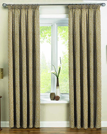 Prestigious Dita Saffron Curtains