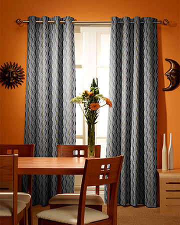 Prestigious Flume Chestnut Curtains